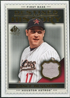 2009 Upper Deck SP Legendary Cuts Destined for History Memorabilia #LB Lance Berkman