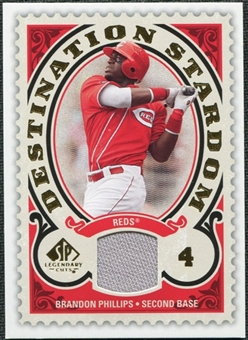 2009 Upper Deck SP Legendary Cuts Destination Stardom Memorabilia #BP Brandon Phillips
