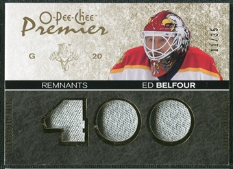 2007/08 Upper Deck OPC Premier Remnants Triples Patches #PREB Ed Belfour /35