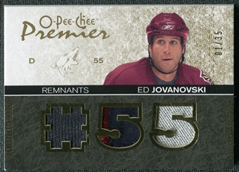 2007/08 Upper Deck OPC Premier Remnants Triples Patches #PREJ Ed Jovanovski /35