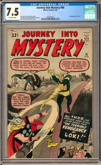 Journey Into Mystery #88 CGC 7.5 (OW) *1345804011*