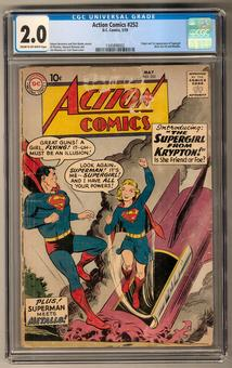 Action Comics #252 CGC 2.0 (C-OW) *1345898002*