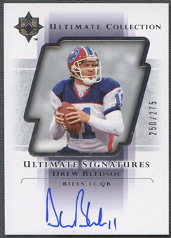 2004 Ultimate Collection #USDB Drew Bledsoe Ultimate Signatures Auto #250/275