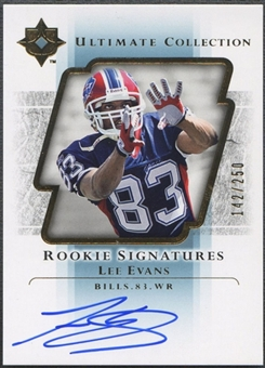 2004 Ultimate Collection #106 Lee Evans Rookie Auto #142/250
