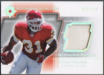 2004 Ultimate Collection #UPPH Priest Holmes Game Jersey Patch #011/150
