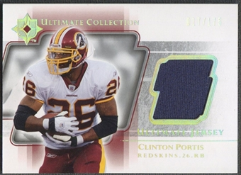 2004 Ultimate Collection #UGJCL Clinton Portis Game Jersey #017/175