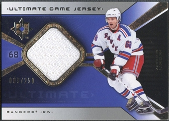 2004/05 Ultimate Collection #UGJJJ Jaromir Jagr Jersey #009/250