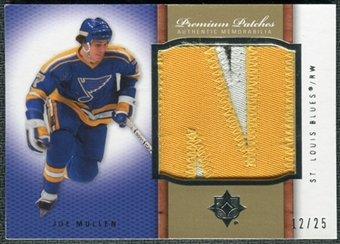 2007/08 Upper Deck Ultimate Collection Premium Patches #PSJM Joe Mullen /25