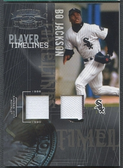 2005 Throwback Threads #5 Bo Jackson Player Timelines Material Jersey #094/100