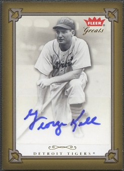 2004 Greats of the Game #GK George Kell Auto