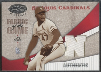 2004 Leaf Certified Materials #175 Lee Smith Fabric of the Game Jersey #069/100