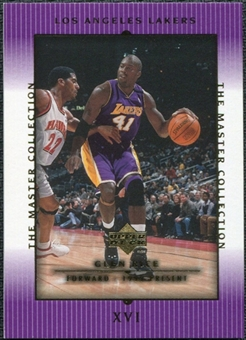 2000 Upper Deck Lakers Master Collection #16 Glen Rice /300