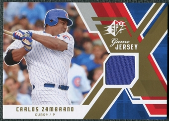 2009 Upper Deck SPx Game Jersey #GJCZ Carlos Zambrano