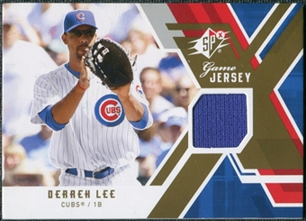 2009 Upper Deck SPx Game Jersey #GJDL Derrek Lee