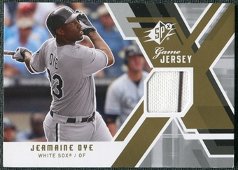 2009 Upper Deck SPx Game Jersey #GJJD Jermaine Dye