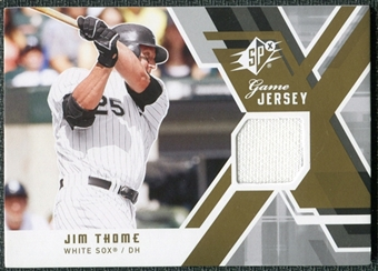 2009 Upper Deck SPx Game Jersey #GJJT Jim Thome