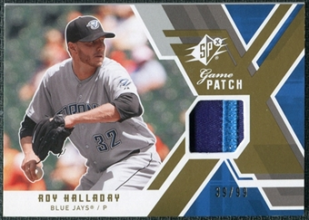 2009 Upper Deck SPx Game Patch #GJRH Roy Halladay /99