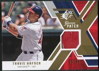 2009 Upper Deck SPx Game Patch #GJTH Travis Hafner /99