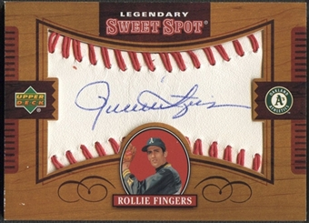 2002 Sweet Spot #RF Rollie Fingers Legendary Signatures Auto
