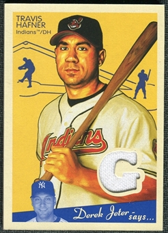 2008 Upper Deck Goudey Memorabilia #TH Travis Hafner