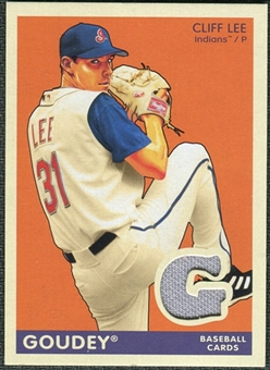 2009 Upper Deck Goudey Memorabilia #GMLE Cliff Lee