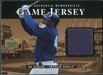 2000 Upper Deck Game Jersey #MV Mo Vaughn HR2