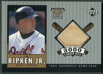 2000 Upper Deck A Piece of History 3000 Club #CRJ Cal Ripken Jr Jersey /350
