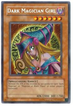 Yu-Gi-Oh Magician's Force Single Dark Magician Girl Secret Rare (MFC-000)