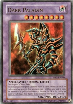 Yu-Gi-Oh Magician's Force Single Dark Paladin Ultra Rare (MFC-105) - SLIGHT PLAY (SP)