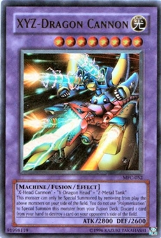 Yu-Gi-Oh Magician's Force Single XYZ-Dragon Cannon Ultra Rare (MFC-052)