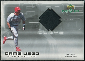 2001 Upper Deck Game Souvenirs Batting Glove #GRP Rafael Palmeiro