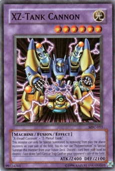 Yu-Gi-Oh Magician's Force Single XZ-Tank Cannon Super Rare (MFC-053)