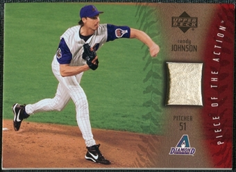 2003 Upper Deck Piece of the Action Game Ball #RJ Randy Johnson SP