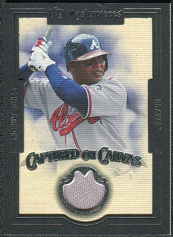 2007 Upper Deck UD Masterpieces Captured on Canvas #AJ Andruw Jones