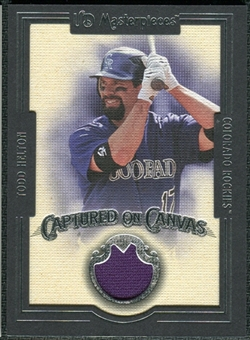 2007 Upper Deck UD Masterpieces Captured on Canvas #HE Todd Helton