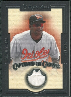 2007 Upper Deck UD Masterpieces Captured on Canvas #MT Miguel Tejada