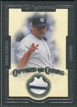 2007 Upper Deck UD Masterpieces Captured on Canvas #RC Roger Clemens