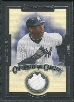 2007 Upper Deck UD Masterpieces Captured on Canvas #SH Gary Sheffield