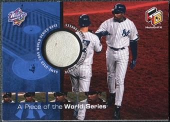 2000 Upper Deck HoloGrFX A Piece of the Series #PS5 Bernie Williams