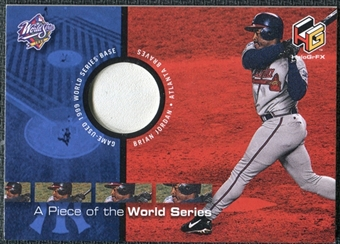 2000 Upper Deck HoloGrFX A Piece of the Series #PS8 Brian Jordan