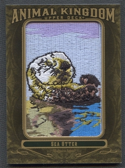2011 Upper Deck Goodwin Champions Animal Kingdom Patches #AK79 Sea Otter