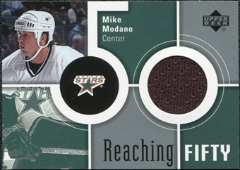 2002/03 Upper Deck Reaching Fifty #50MM Mike Modano