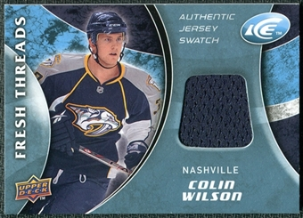 2009/10 Upper Deck Ice Fresh Threads #FTCW Colin Wilson