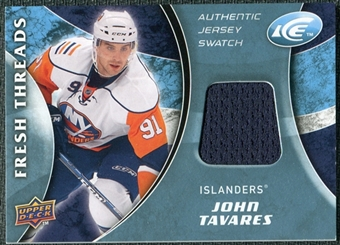 2009/10 Upper Deck Ice Fresh Threads #FTJT John Tavares