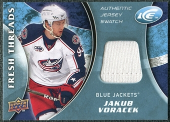 2009/10 Upper Deck Ice Fresh Threads #FTJV Jakub Voracek