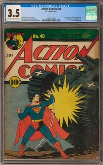 Action Comics #40 CGC 3.5 (LT-OW) *1362227005*