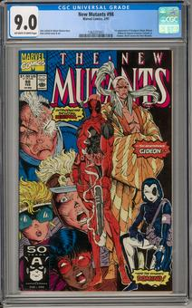 New Mutants #98 CGC 9.0 (OW-W) *1362237007*