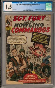 Sgt. Fury and his Howling Commandos #1 CGC 1.5 (OW) *1362237008*