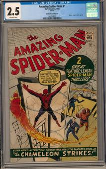 Amazing Spider-Man #1 CGC 2.5 (OW) Golden Record Reprint *1362248001*