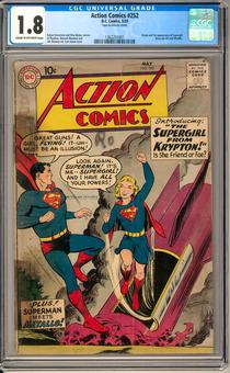Action Comics #252 CGC 1.8 (C-OW) *1362251001*